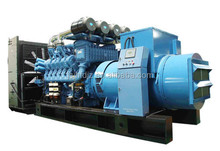 250kw silent generator set powered by MTU diesel engine with low emission