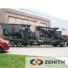 Zenith used mobile crushing and screening plant with CE