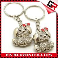 China wholesale customized logo monkey keychains