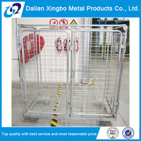 OEM welcomed collapsible rolling security cage