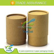 Eco-friendly cardboard boxes pen packaging tube