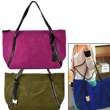 Good Quality Big Suede Bag Outdoor travelling bag