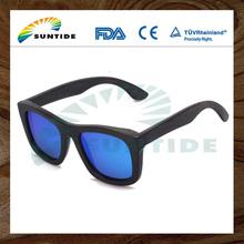 Excelente Gafas de sol de bambú para hombres