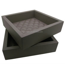 hotel goods leather desk tray for office A06-016A