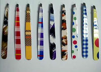 beautiful grid tweezers TW135