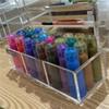 Acrylic Cosmetic Storage Box Case Brush Pen Pencil Case Holder Organizer