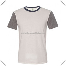manufacturers china custom made fashion bulk blank t-shirts made by 100% cotton wholesale for men