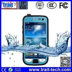 New arrival Waterproof case shock proof case for Samsung Galaxy S4 Mini I9190 with kickstand,waterproof case for samsung galaxy