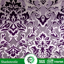 Factory direct sale sofa fabric purple velvet
