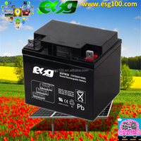 Sealed Lead Acid type Rechargeable battery AGM battery 12V 38ah ups battery