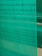 2014 new material best quality pp knotless cargo net green color net