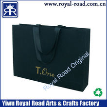 High class luxury lamination paper bag with best price cusotme logo printed