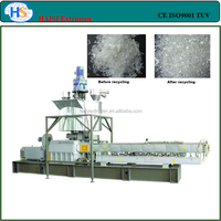 PA/PE/PP/PET/PBT flakes plastic granules cutting machine