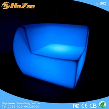 Supply all kinds of LED chair webbing,orange leather sectional LED chair