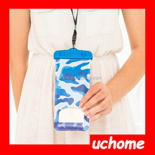 UCHOME Camouflage fashionable waterproof cell phone bag
