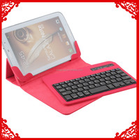 High Quality red universal 7 inch Protective Leather Case Cover Skin Holster with Stand for Tablet