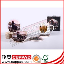 Waterproof cup mat,cute cup mats