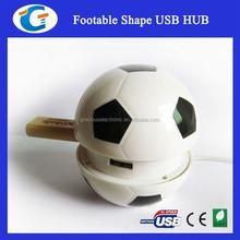 2015 Cute Design Football Shape USB HUB With 4 Ports