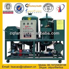 Low-temperature Oil distillation Machine / Black Oil Recycling Machine/ Used Oil Filtration Plant / Oil Reclaiming