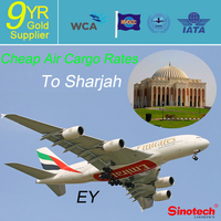 Cheap Air Cargo rates Shipping service from China to Sharjah, United Arab Emirates------Whatsapp:86-13631271869