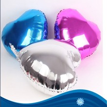 Wholesale hot Sell solid heart shaped foil balloon
