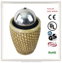 Wohnkultur aus edelstahl feng-shui-ball brunnen