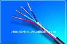 electric household copper conductor PVC insulation sheathed stranded flexible RVV wire cable rated 300/500V