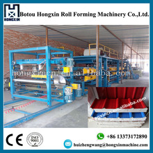 Good Price Colored Steel EPS Sandwich Panel Used as Roof or Wall Tile Roll Forming Machine