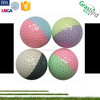 child lady gift oem design crystal cover two colors funny golf balls