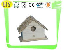 cheap plain wooden bird house wholesale