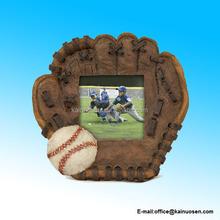 Polyresin Vintage Baseball Picture Frame