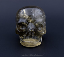 2015 Wholesale High Quality Customize Pure NATURAL Unique Most Popular Crystal Skull As Halloween Gifts