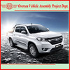4x4 drive diesel china pick up trucks (skd/ckd kits available for assembly)