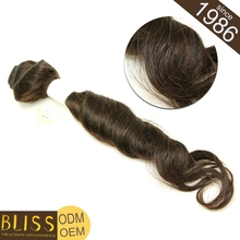 Heathy Ends With Packaging Human Hair Hand Woven Extension
