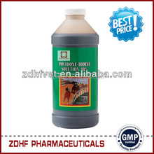 Best price Antiseptic solution Povidon Iodine solution / povidone iodine 5% in organic farming / poultry farming