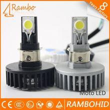 3 Lámparas LEDs Bombillas Luz intermitente de Niebla para moto bi-xenon