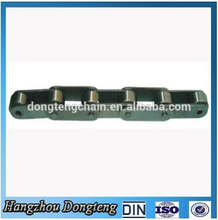 Hangzhou Carbon steel High quality low price double pitch conveyor steel chain made in china Hangzhou factory