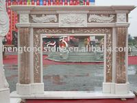Sale Carved Natural Marble Fireplace