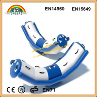 Inflatable water park ride toys and crazy inflatable water floats