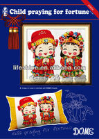 chinese folk art paintings with clear instruction chart and colorful original picture