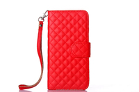 Quilted Bling Leather Flip Wallet Case Cover For iPhone6 Plus and all the hot model for iphone plus ,for iphone 6+ wallet case