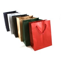 Different logo printed on foldable reuseable shopping bag