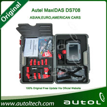 2014 Top rated Original Update On Line English/Spanish/French/German/Portuguese/Russian Autel MAXIDAS DS708 ds708