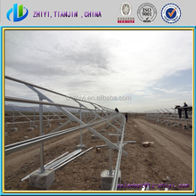 solar ground mounting frames for Ground Solar Mounting System for sale from China