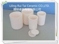 Corundum-mullite Alumina Crucible/Aluminum Oxide Ceramic Crucibles/ Alumine Melting Pot