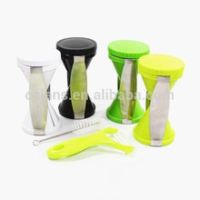 Hot Sell High Quality Spiral Slicer Vegetable Slicer with Japanese Blade with differ colour