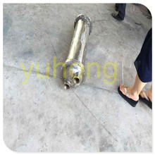 sanitary stainless steel shell tube heat exchanger