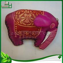 handmade animal shaped genuine leather designer coin purse