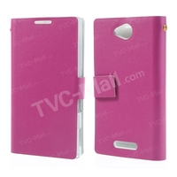 Doormoon Genuine Leather Mobile Pouch For Sony Xperia C (S39h)