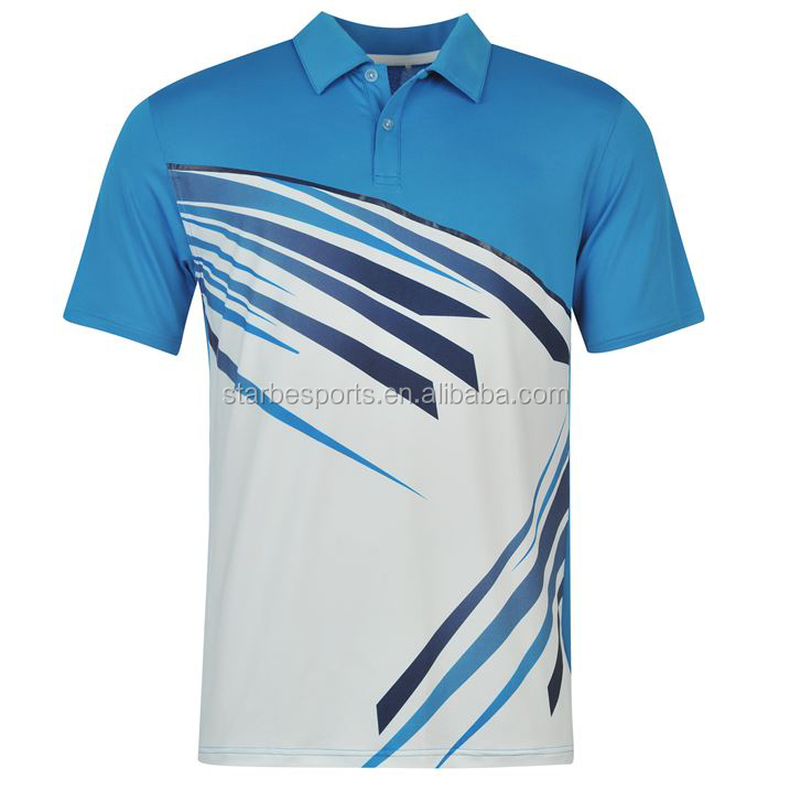 High quality custom sublimated printing polo shirt buy for High quality custom shirts